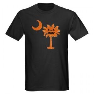 Pumpkin Palmetto Dark T-Shirt